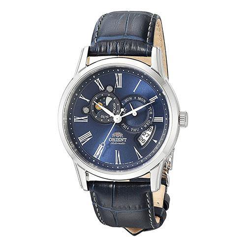 orient sun and moon dress watch